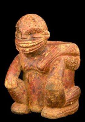 Escultura de la cultura Calima, Museo del Oro, Bogotá, Colombia (CC BY-SA 3.0)