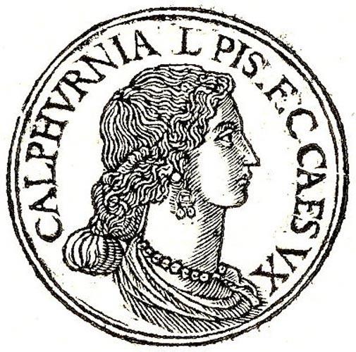 Calpurnia – última esposa de César. (Public Domain)