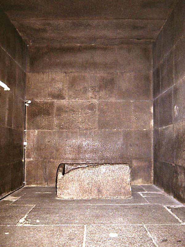La Cámara del Rey de la Gran Pirámide. (Public Domain)