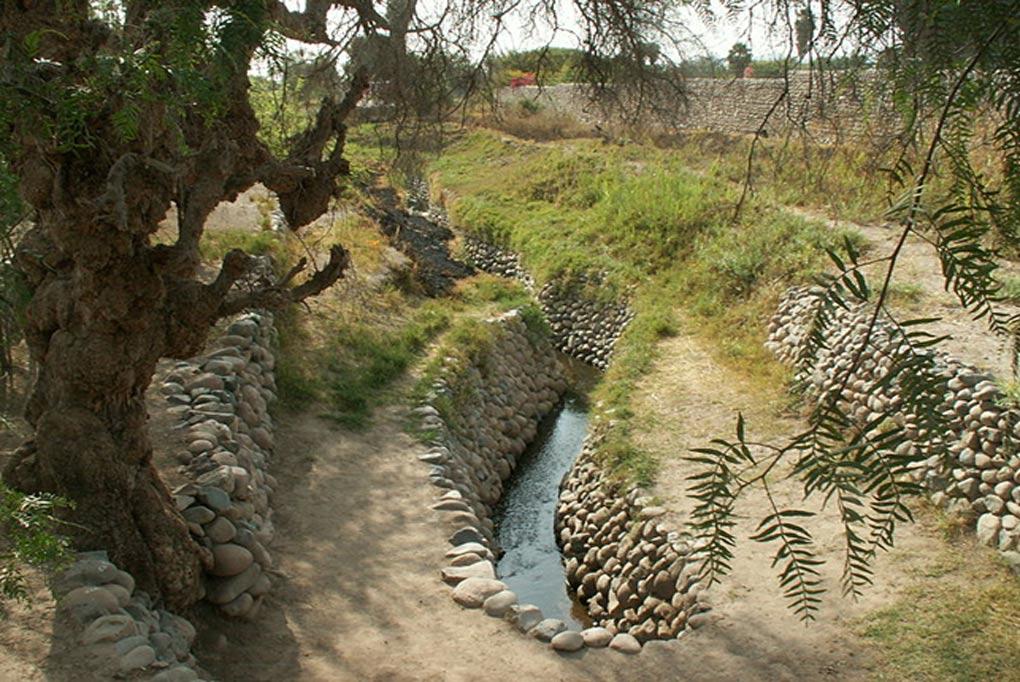 Canales de irrigación de Nazca. (CC BY 2.0)