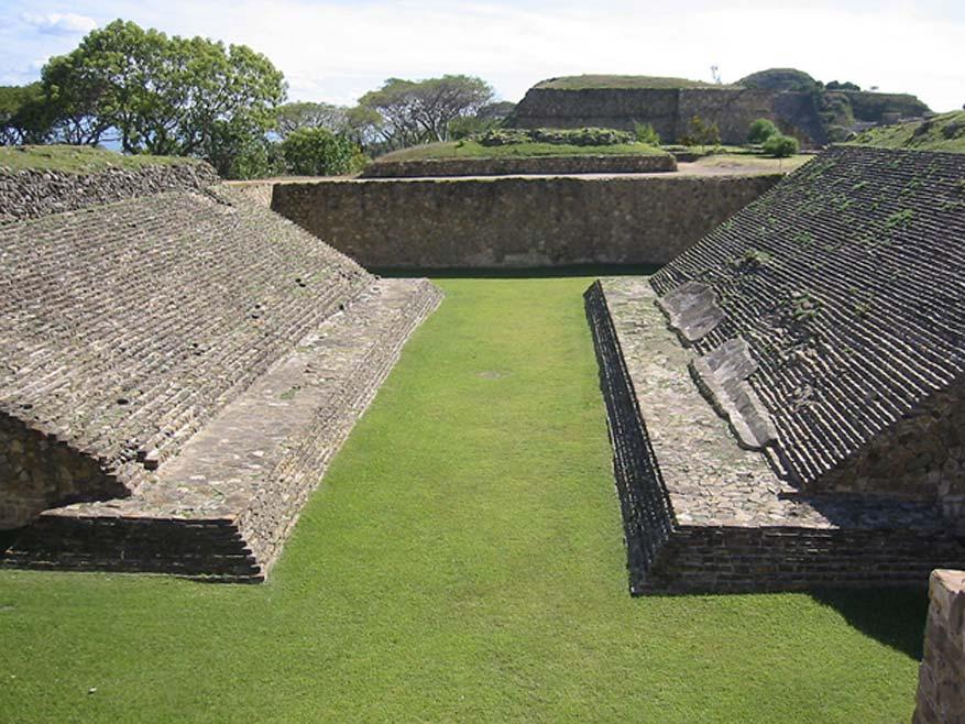 Cancha mesoamericana de juego de pelota en Monte Albán (México) (CC BY 2.0)
