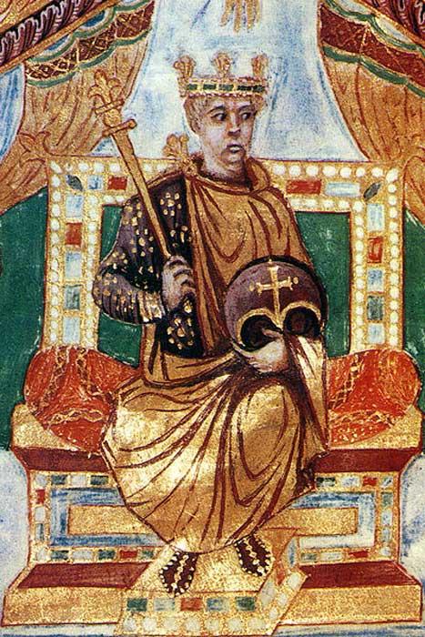 Carlos el Calvo, Sacro Emperador Romano (Public Domain)