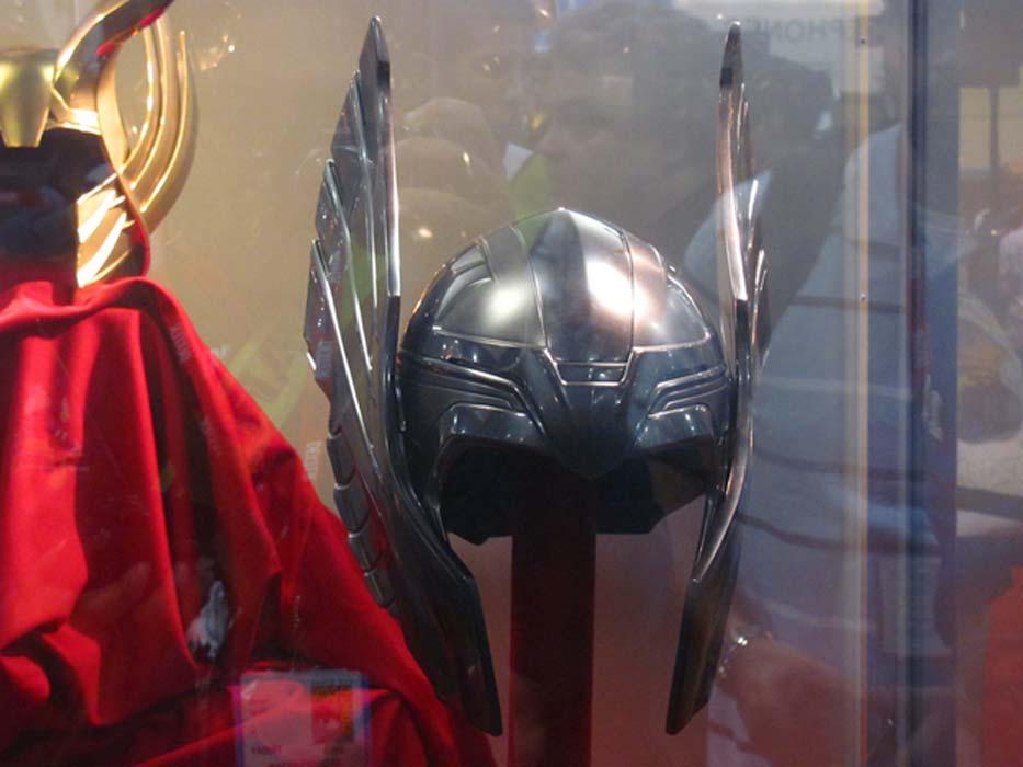 Casco de Thor en el stand de Marvel de la Comic-Con de San Diego. (CC BY-ND 2.0)