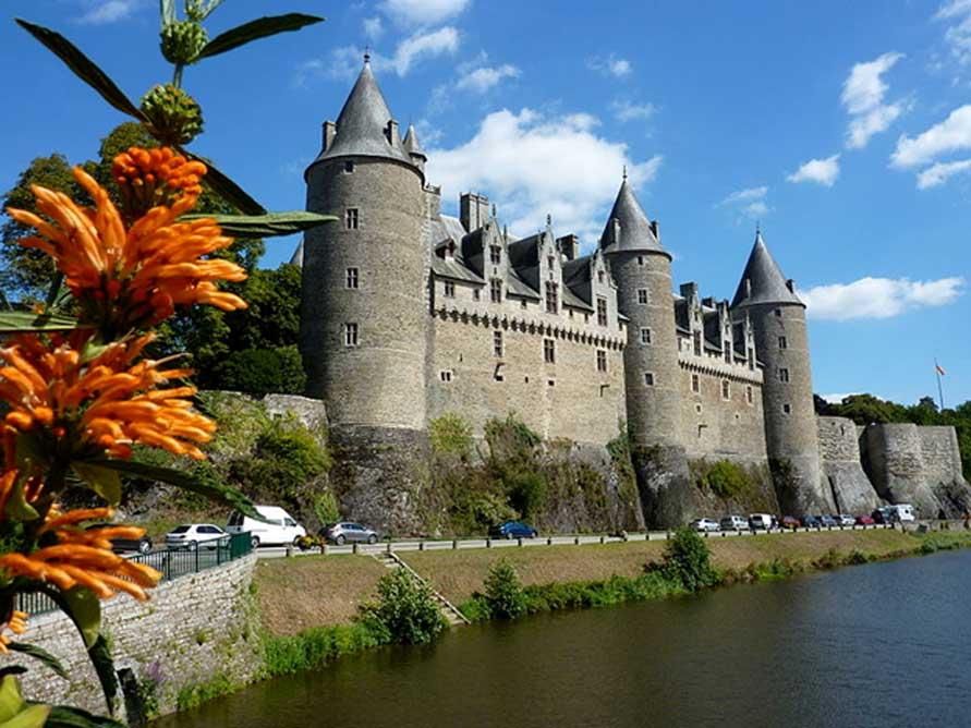 Vista del castillo de Josselin, Francia. (CC BY-SA 3.0)