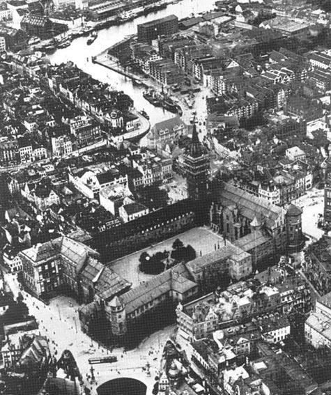 El castillo de Königsberg en 1925. (Public Domain)