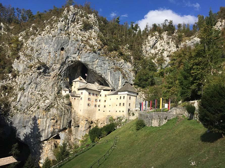 Castillo de Predjama, Eslovenia. (CC0)