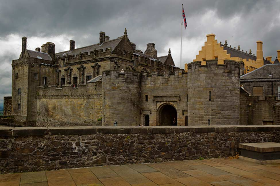 Castillo de Stirling, Escocia (dun deagh / flickr)