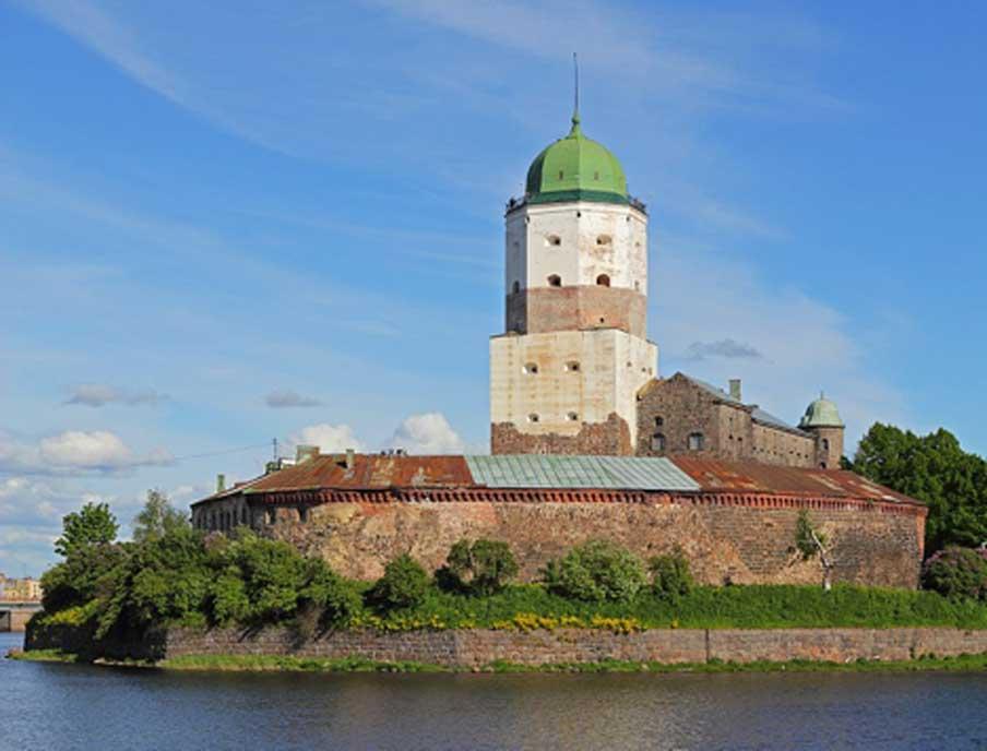 El castillo de Vyborg, Rusia, siglo XIII. (CC BY-SA 3.0)
