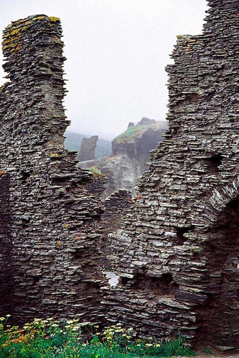 Ruinas del castillo normando de Tintagel. (CC BY SA 3.0)