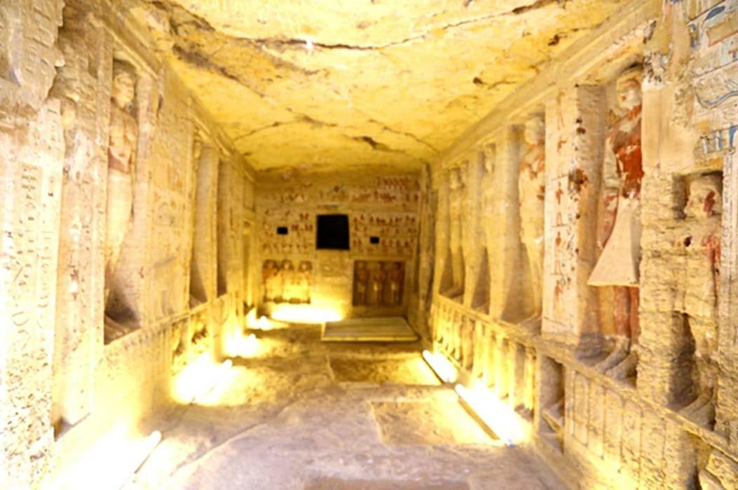 Catacumbas. (Ministerio de Antigüedades egipcio)