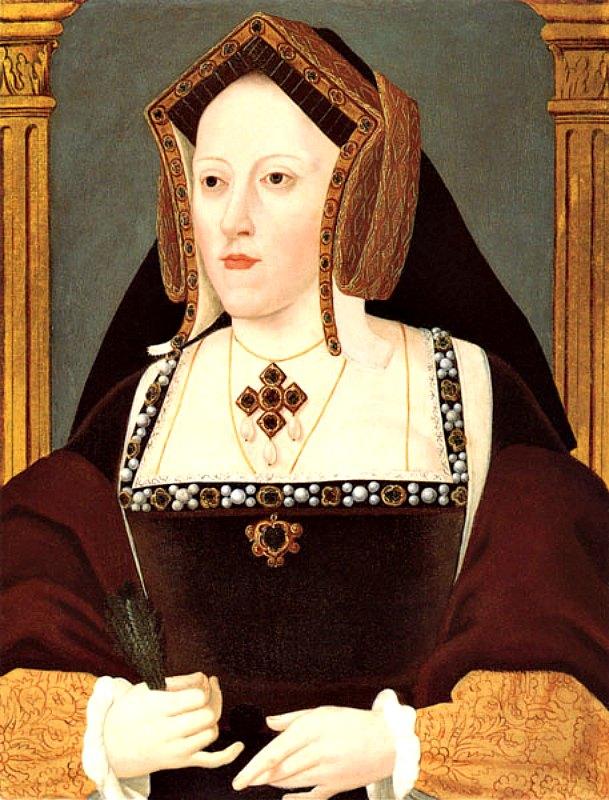 Retrato de la reina Catalina de Aragón, primera esposa de Enrique VIII, obra del artista Lucas Hornebolte. El divorcio de Catalina motivó la ruptura con la Iglesia Católica y la creación de la Iglesia de Inglaterra. Colección del Duque de Buccleuch y Queensberry (Public Domain)