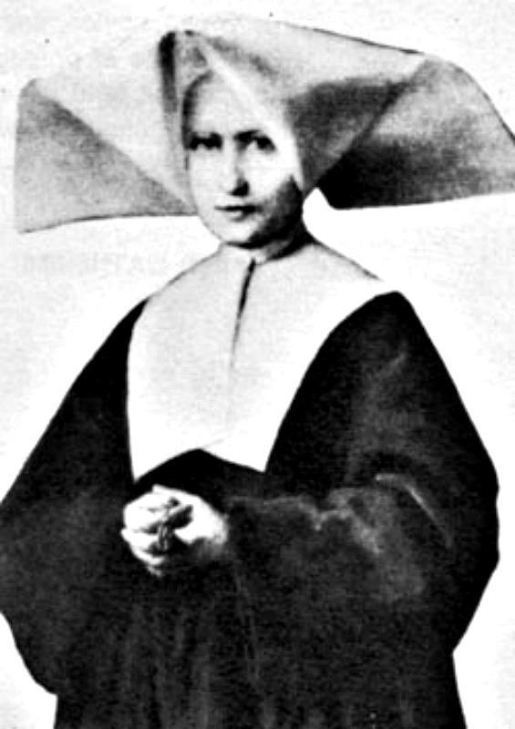 Fotografía real de la santa tomada en torno al año 1850. (Dominio público)