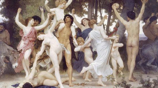 La celebración pagana de las Saturnalia