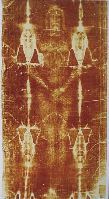 La célebre Sábana Santa de Turín, una misteriosa reliquia. (Public Domain)