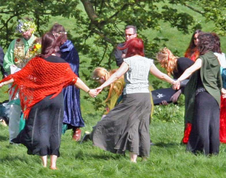 Ceremonia pagana celebrada en Avebury (Beltane 2005). (Solar/CC BY SA 2.0)