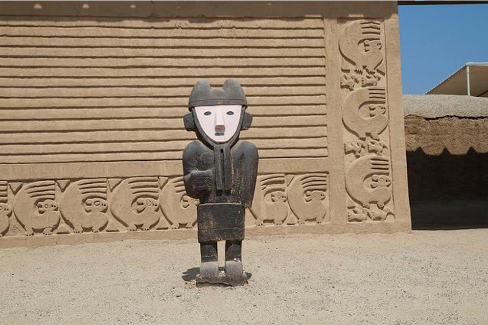 Arquitectura y escultura de la antigua ciudad de Chan Chan. (Belinda Grasnick, Flicker/CC BY-ND 2.0)