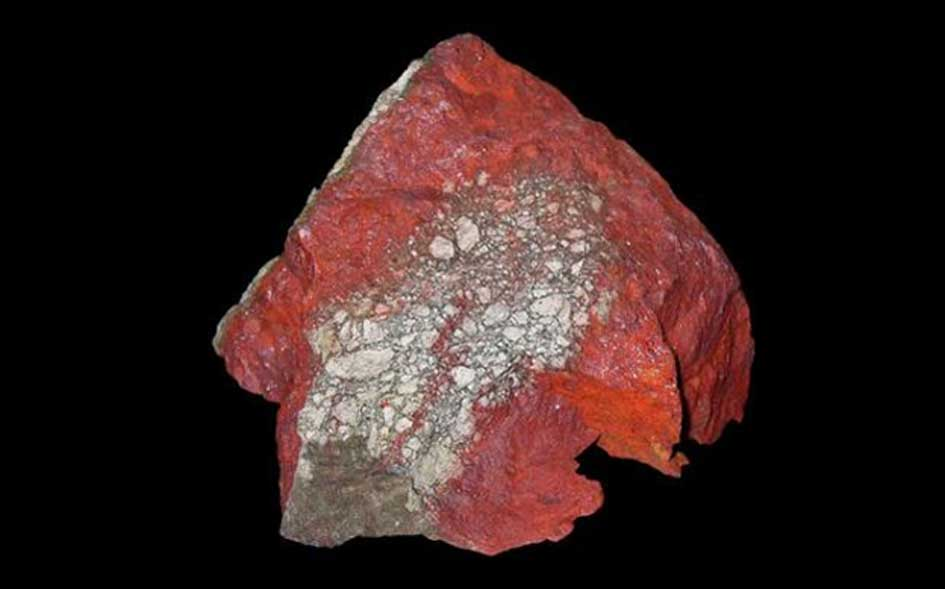 El cinabrio contiene un metal muy tóxico, el mercurio. (H. Zell/CC BY SA 3.0)