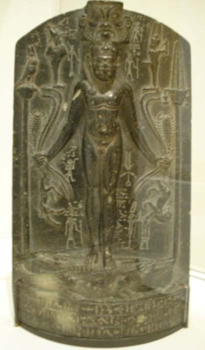 Estela del tipo 'cipo de Horus'. (Public Domain)