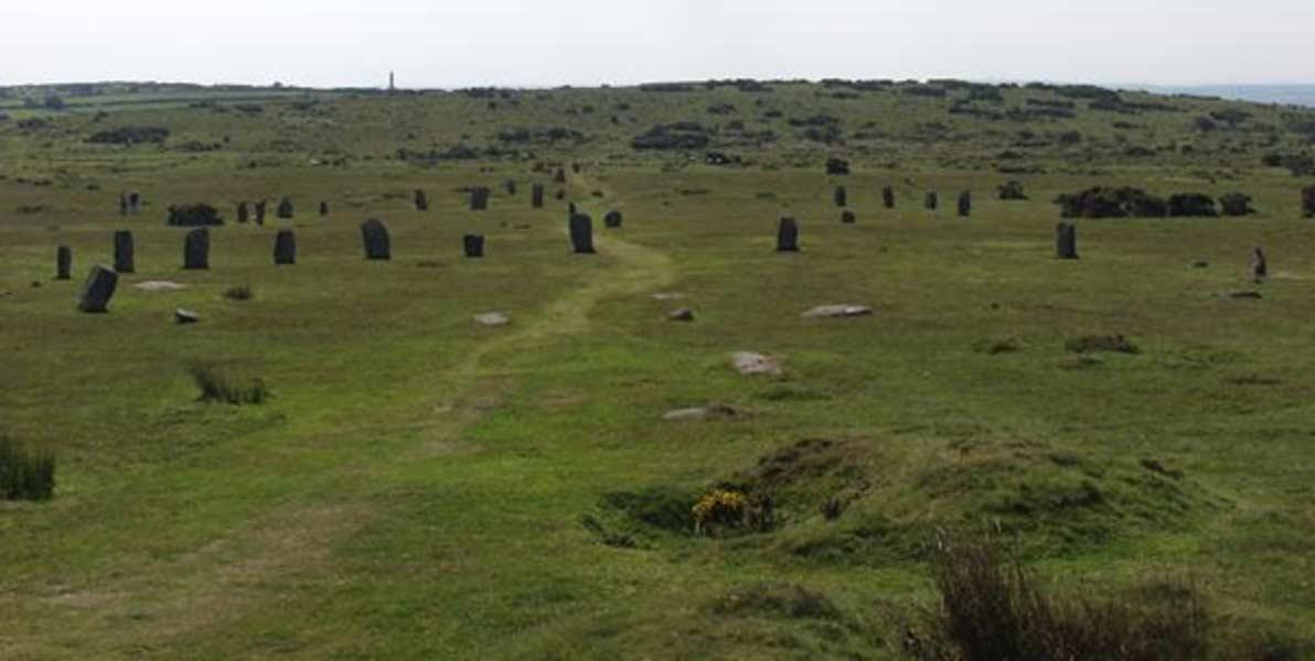 Círculos megalíticos de The Hurlers, sur de Inglaterra (Public Domain)