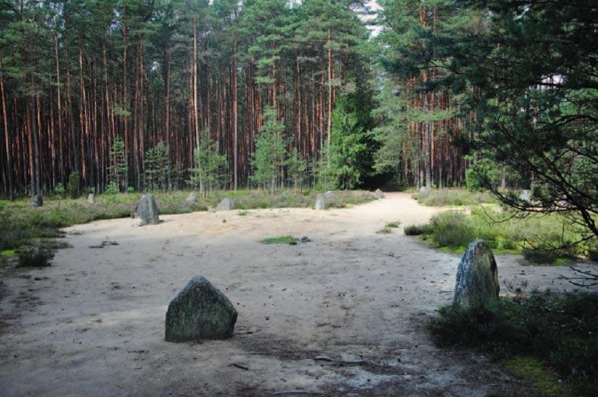 Círculos de piedras de Grzybnica, Polonia. (M. Pawleta)