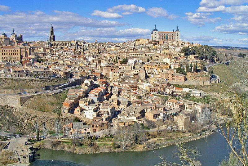 La ciudad de Toledo en la actualidad (Wikimedia Commons)