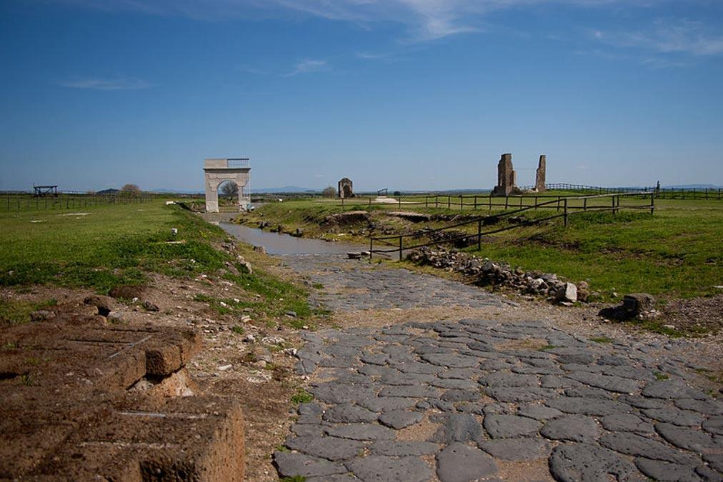 La antigua ciudad etrusca de Vulci. (Robin Iversen Rönnlund /CC BY SA 3.0)