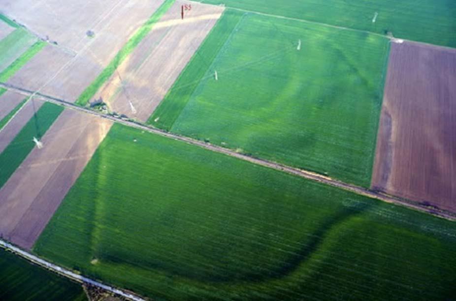 La antigua ciudadela de hace 3.400 años ocupa una superficie de 89 hectáreas. (Aradon Romania)