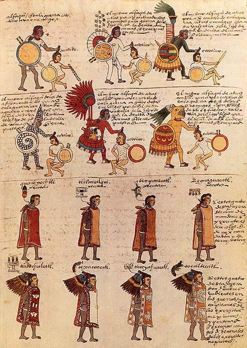 Folio 65º del Códice Mendoza, códice azteca de mediados del siglo XVI. (Public Domain)