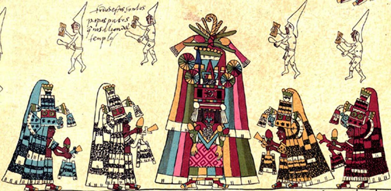Detalle de la página 30 del Códice Borbónico. (FAMSI)