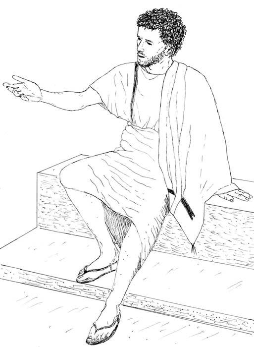 Es posible que Jesús vistiera aproximadamente así. © Joan Taylor, imagen aportada por la autora