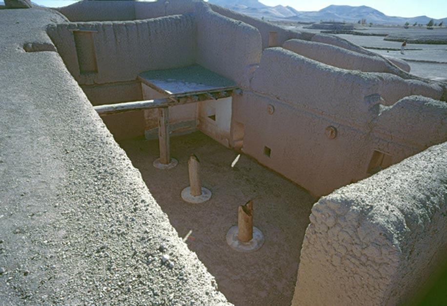 Complejo residencial indígena parcialmente reconstruido, Paquimé, Chihuahua, México. (HJPD/ CC BY 3.0)