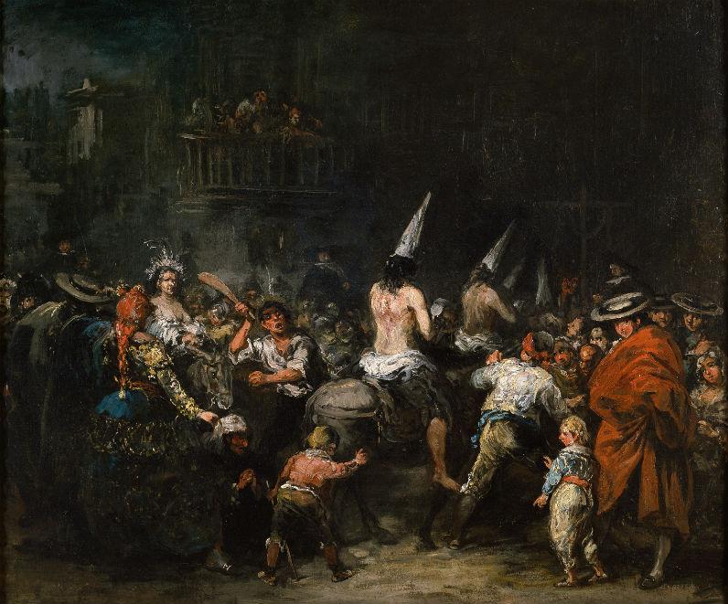 """""""Condenados por la Inquisición"""", de Eugenio Lucas. Siglo XIX, Museo del Prado. (Wikimedia Commons)"""