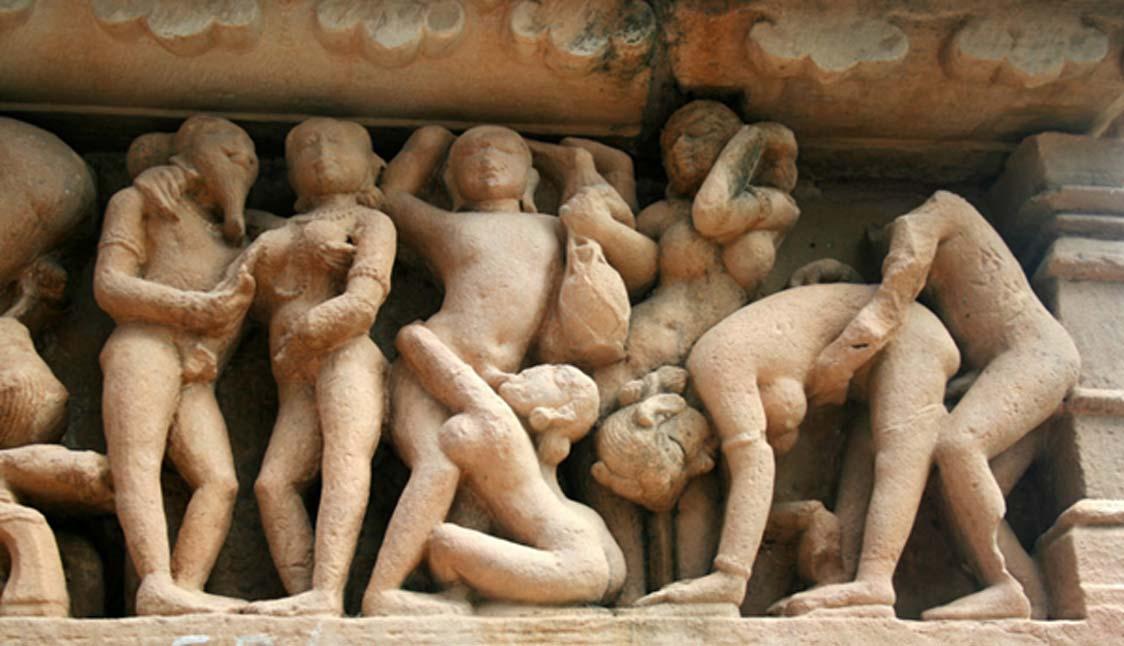 Esculturas eróticas de los templos de Khajuraho (Michael Baun / flickr)