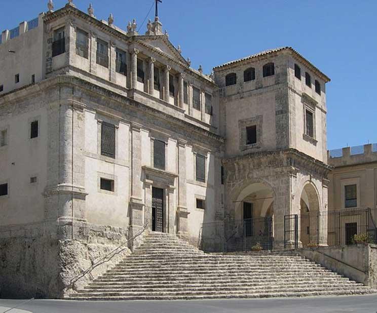 Palma di Montechiaro, Sicilia – el convento de clausura benedictino en el que supuestamente habría sido escrita la carta. (Archenzo/CC BY SA 3.0)