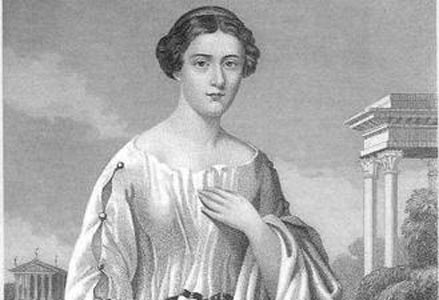 Retrato de la primera esposa de César, Cornelia. (Caesar: Hero or Villain)