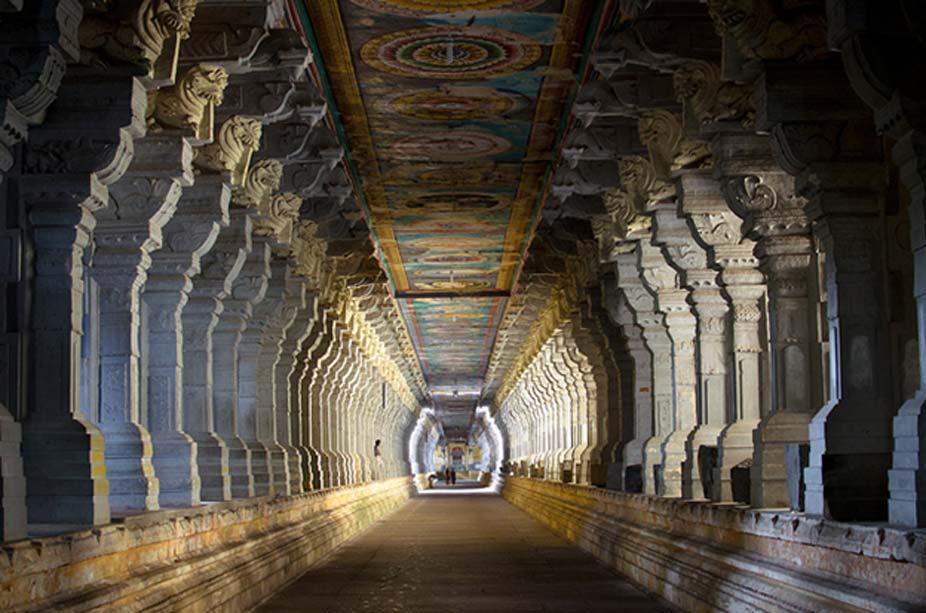 Corredor del templo de Ramanathaswamy. (CC BY-NC 2.0)