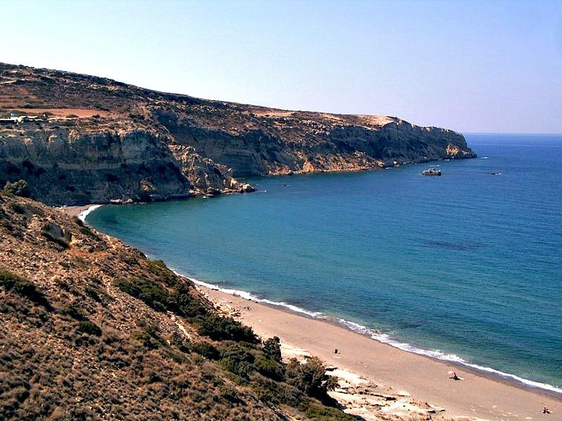 Según algunos estudiosos, ciertas zonas de la actual costa cretense habrían formado parte de la mítica Atlántida. (Norro/GNU Free)