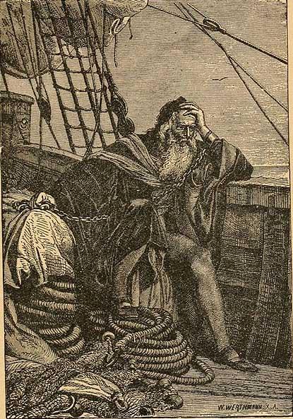 Cristóbal Colón encadenado (Dominio público)