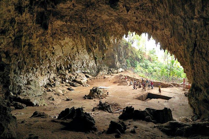Liang Bua, la cueva de la isla de Flores donde en el año 2003 se descubrieron los primeros restos del sorprendente 'Homo floresiensis'. (Rosino/CC BY-SA 2.0)