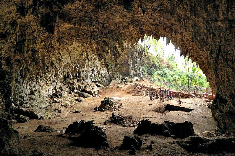 Panorámica de la cueva de Liang Bua, en la Isla de Flores. (Rosino/CC BY-SA 2.0)