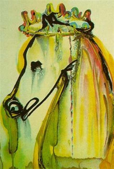 'El caballo de Calígula', Salvador Dali, 1971. (Fair Use)