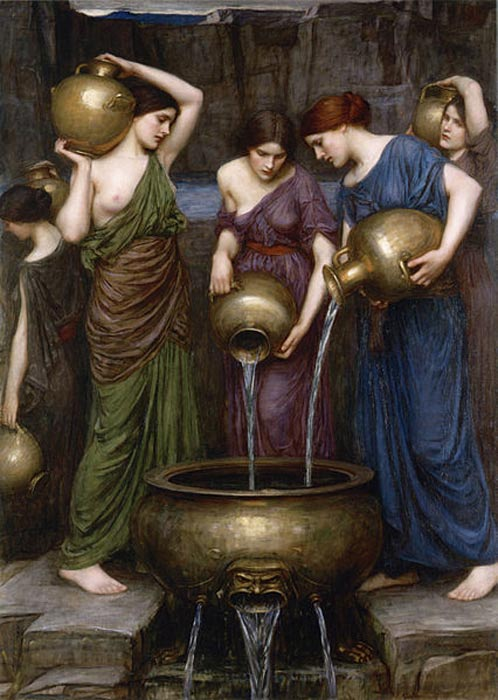 'Las Danaides' (1903), óleo de John William Waterhouse. (Public Domain)