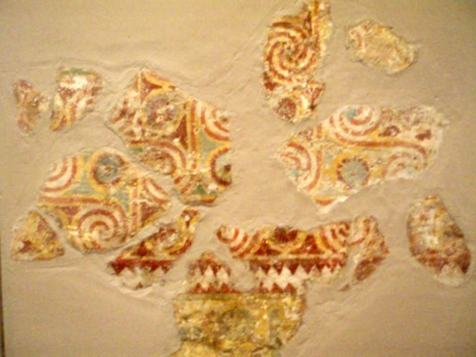 Fragmentos de las pinturas que decoraban los techos de la tumba de Senenmut (SAE 71). (CC BY-SA 3.0)