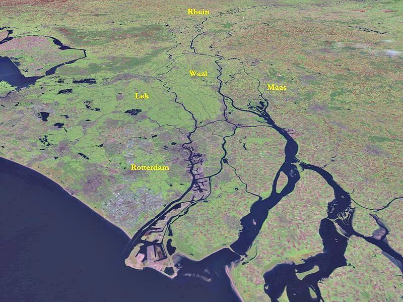 El Tercio español de Francisco Arias de Bobadilla se encontraba desplegado en la Isla de Bommel, situada entre los ríos Maas y Waal. (Public Domain)