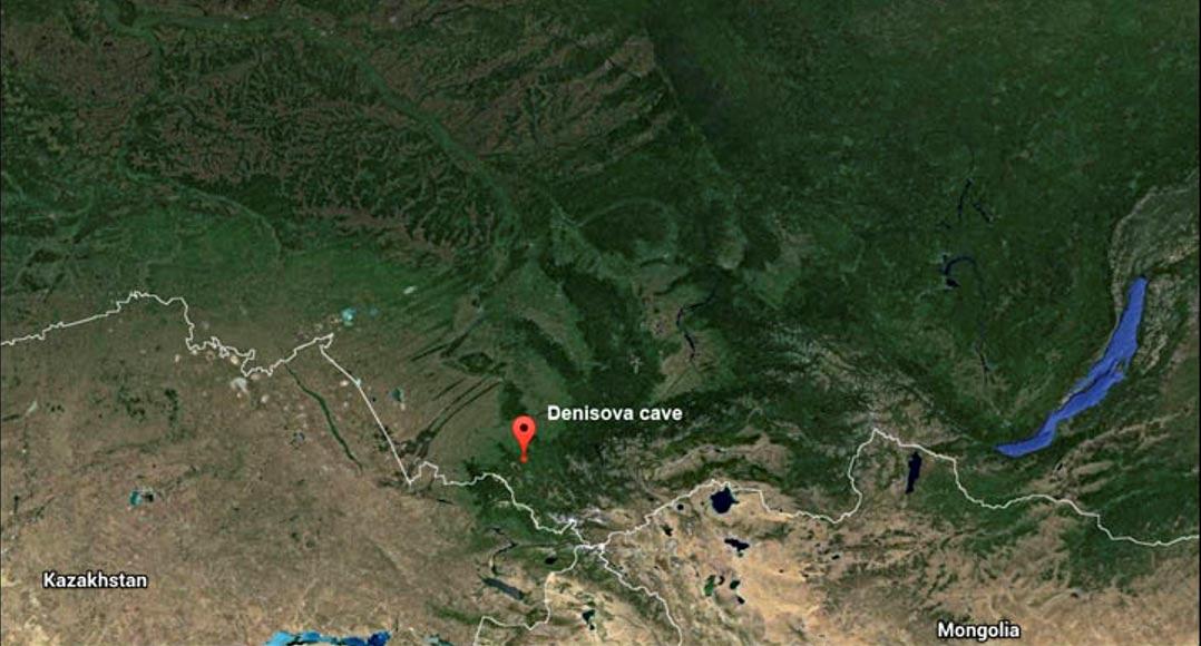 La Cueva de Denisova se localiza en la sierra de Bashelaksky, al noroeste del Macizo de Altái, cerca de la frontera entre la actual Región de Altái y la República de Altái. Foto: The Siberian Times.