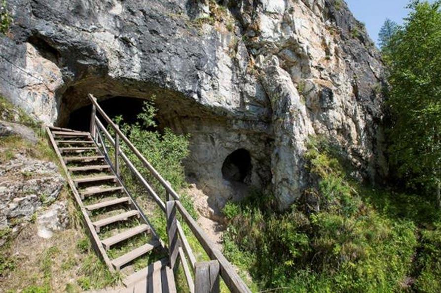 Cueva de Denísova, en Rusia. Foto: Instituto Max Planck