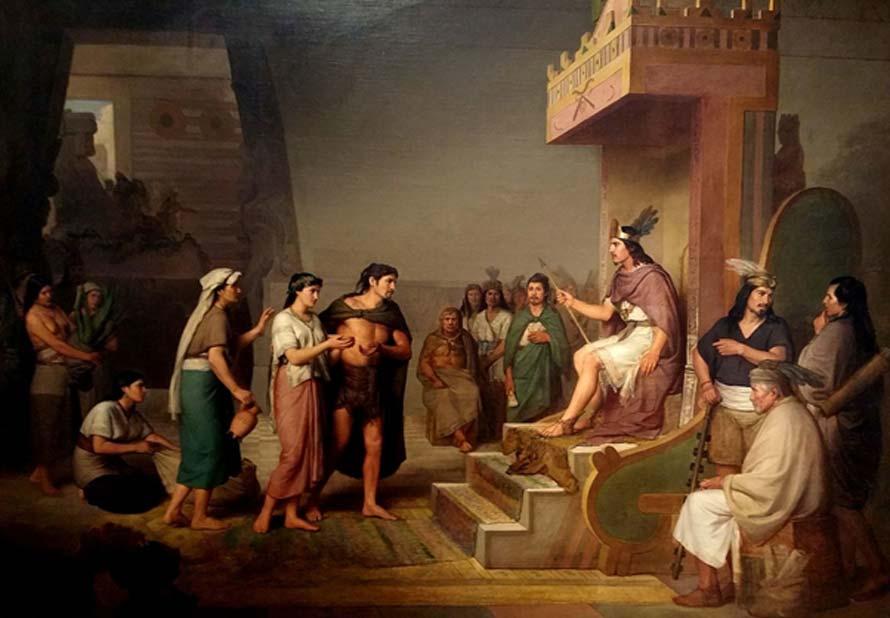'El descubrimiento del pulque', óleo del pintor mexicano del siglo XIX José Obregón (CC BY 2.0)