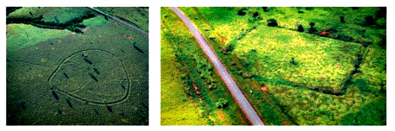 Los primeros ocho geoglifos fueron descubiertos en 1977 tras una deforestación llevada a cabo para uso agrícola (Fotografías: Edison Gaetano/Revista Pesquisa/La Gran Época)