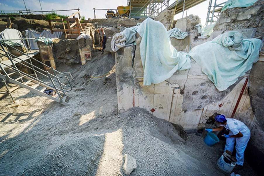 Continuamente emergen nuevos descubrimientos de las cenizas del Vesubio. (Imagen: Parco Archeologico Di Pompeii)