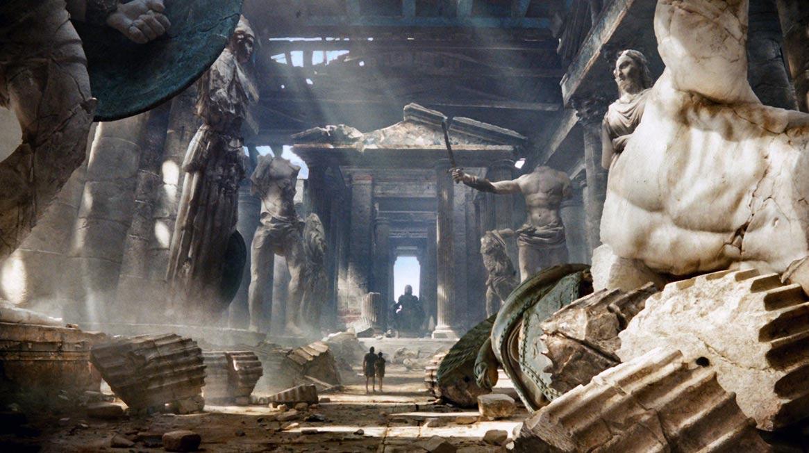 La destrucción del templo de Zeus fue ordenada por Teodosio II en el año 426 d. C. (picturefordesktop.com)